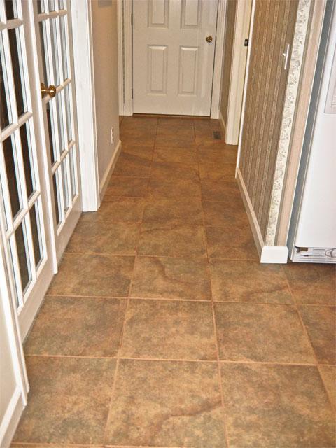 Karen Hammes Residential Builder Ronnie - 13 inch floor tiles